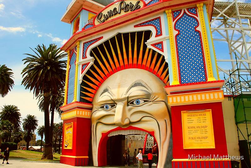 Luna Park Melbourne .. a closer view by Michael Matthews