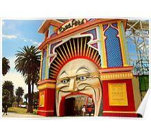 Luna Park Melbourne .. a closer view Poster