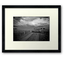 Storm From Politic Framed Print