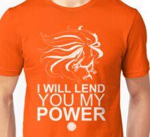 Kurama - I Will Lend You My Power - White Unisex T-Shirt
