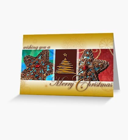 Indian Christmas Star Greeting Card
