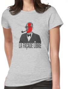 La Façade Libre Womens Fitted T-Shirt