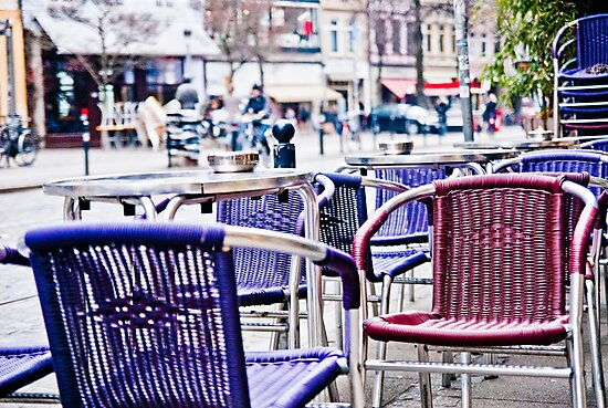 Bremen Street Cafe Chairs - Viertel by Aaron Holloway