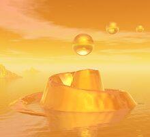 Orange Waters by Phil Perkins