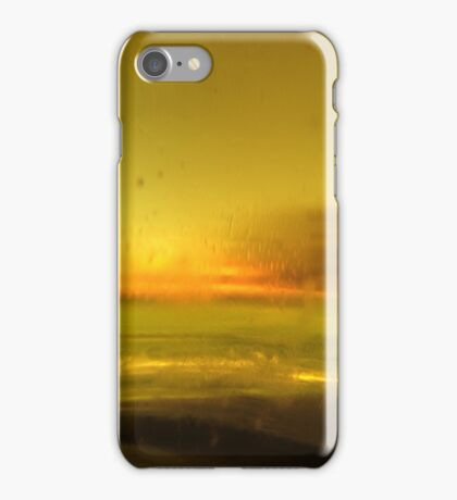 through the beer glass iPhone Case/Skin