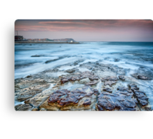 Merewether on the Rocks Canvas Print
