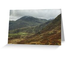 The Wetherlam Series ~ Above Wrynose Greeting Card