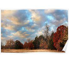 Autumn Treeline Poster