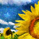 Sun Flowers by DiNovici
