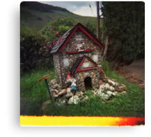 Holga gnome home Canvas Print