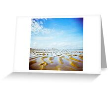 Holga sandy Greeting Card