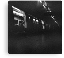 Holga London underground Canvas Print