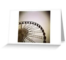 Holga big wheel Greeting Card