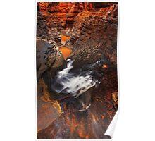 Karijini dreaming - Handcock Gorge Karijini N.P. Poster