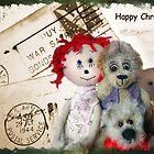 Happy Christmas by Angela  Burman