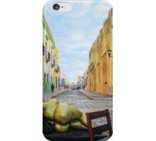 Campeche street walk iPhone Case/Skin