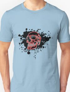 Red Glow Skull T-Shirt