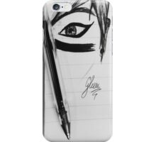 Loving Eye - Black Art iPhone Case/Skin
