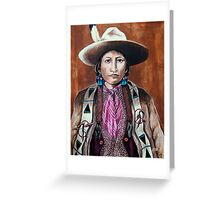 Apache Colors Greeting Card
