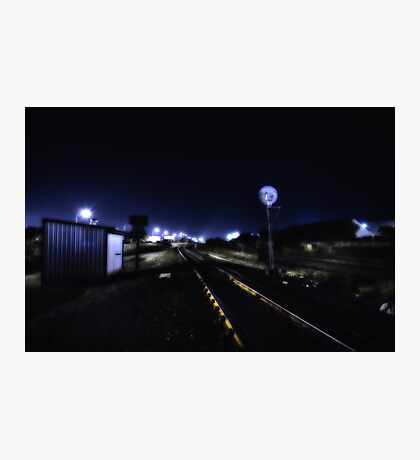 Dark Tracks Photographic Print