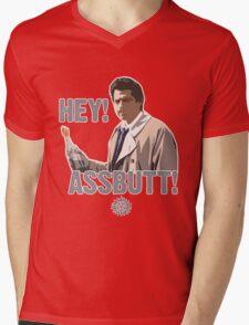 Hey! Assbutt! Mens V-Neck T-Shirt