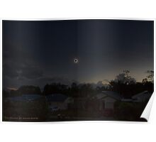 Cairns Total Solar Eclipse 14-11-2012 Poster