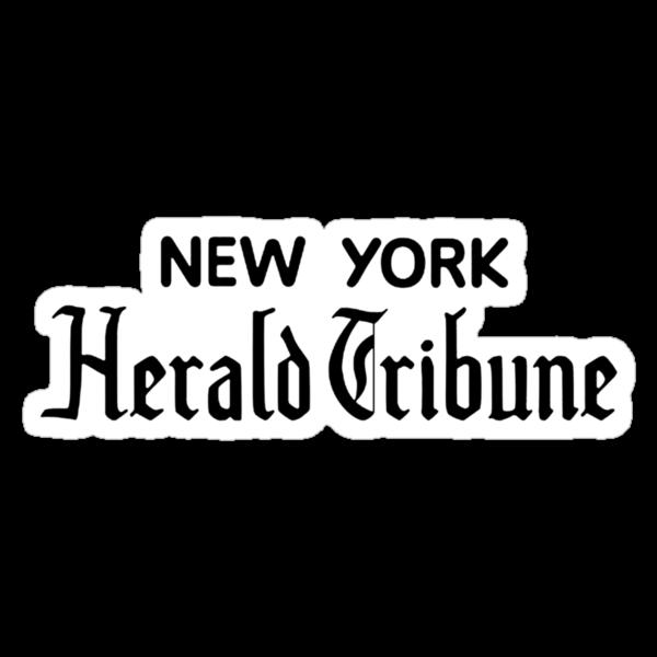 """""""New York Herald Tribune!""""  by adrienne75"""
