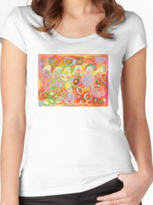 Train Soup 3 Women's Fitted Scoop T-Shirt