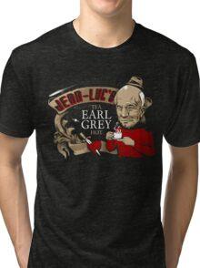 Jean Luc's Engaging Earl Grey Tri-blend T-Shirt