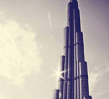 Burj Khalifa Tower, Dubai by sylvianik