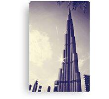 Burj Khalifa Tower, Dubai Canvas Print