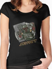 SELFETT Women's Fitted Scoop T-Shirt