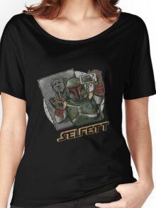 SELFETT Women's Relaxed Fit T-Shirt