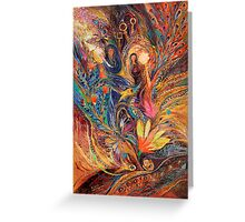 The women of Tanakh - Miriam with timbrels Greeting Card