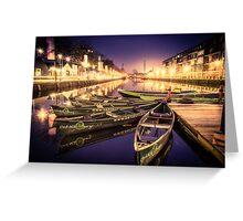 Row, row, row your boat... Greeting Card