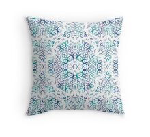 Harmony in Blue Throw Pillow