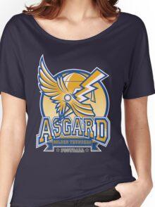 ASGARD GOLDEN THUNDERS FOOTBALL Women's Relaxed Fit T-Shirt