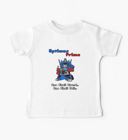 Optimus Prime - One Shall Stand.. Baby Tee
