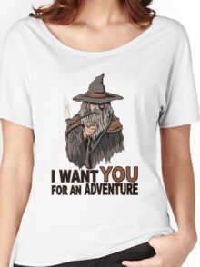 I WANT YOU FOR AN ADVENTURE Women's Relaxed Fit T-Shirt