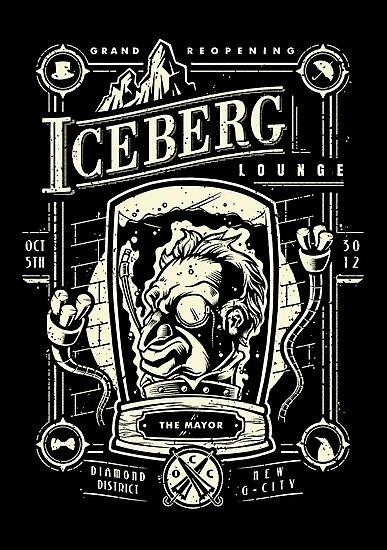 The Iceberg Lounge by bobmosquito