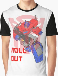 Optimus Prime - Roll Out Graphic T-Shirt