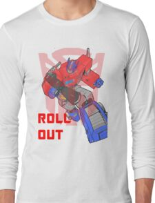 Optimus Prime - Roll Out Long Sleeve T-Shirt