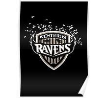 Westeros Ravens Poster