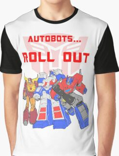 Roll Out Autobots! Graphic T-Shirt