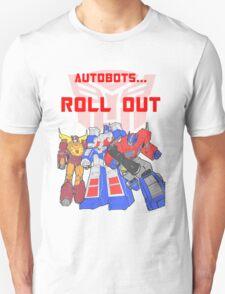 Roll Out Autobots! Unisex T-Shirt