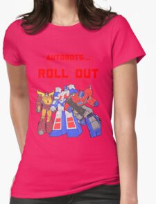 Roll Out Autobots! Womens Fitted T-Shirt
