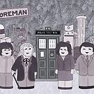 1st Doctor and his companions by HappyDoctors
