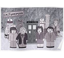 1st Doctor and his companions Poster