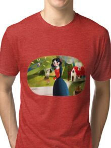 Snow White Tri-blend T-Shirt