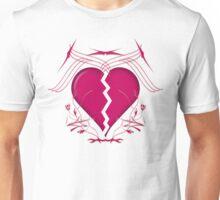 Broken Heart & Tribal Graphics Unisex T-Shirt
